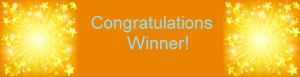 congratulations winner 300x77 Winners updates