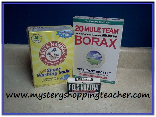 laundry soap 1 How to Make Your Own Laundry Detergent for just $0.06 per load!
