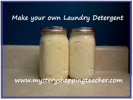 make your own laundry detergent How to Make Your Own Laundry Detergent for just $0.06 per load!